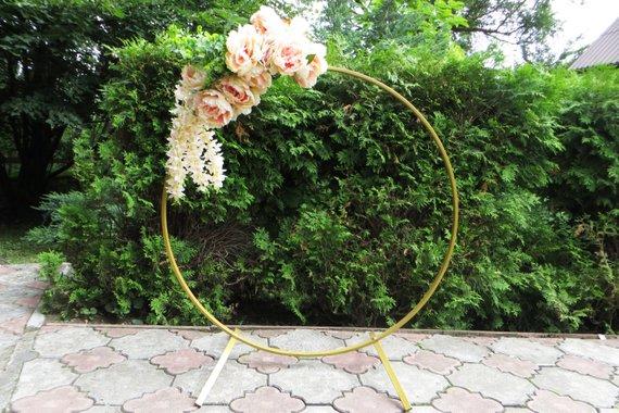 arche mariage fleurs