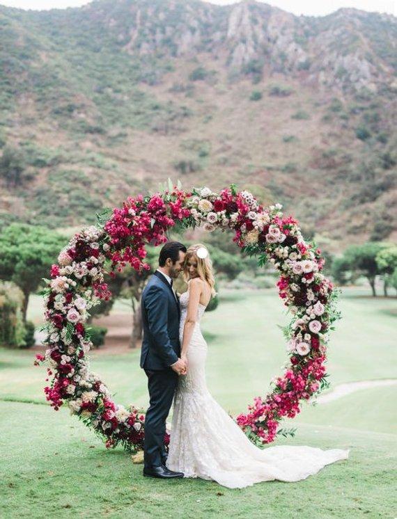 arche mariage ronde