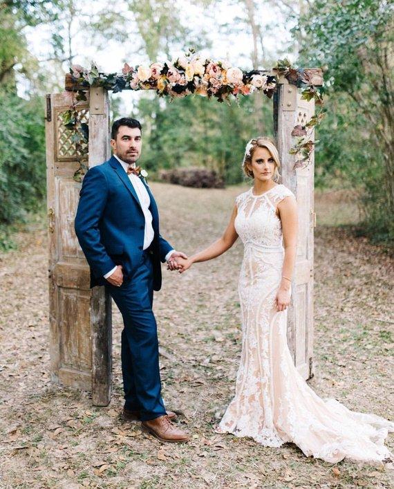 arche mariage vintage