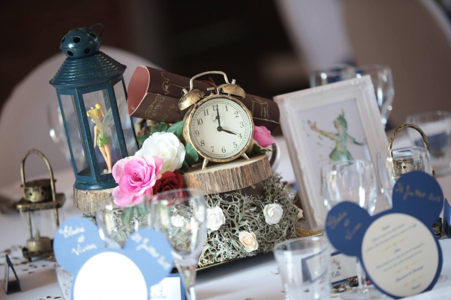 thème mariage disney table peter pan
