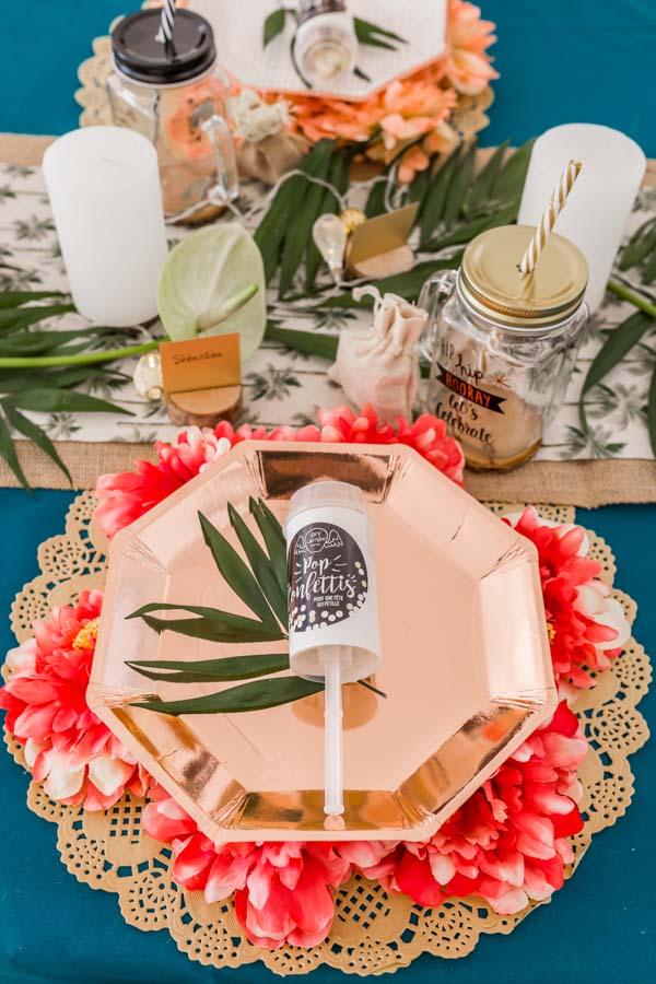 décoration table fête baptême mariage jungle (2)