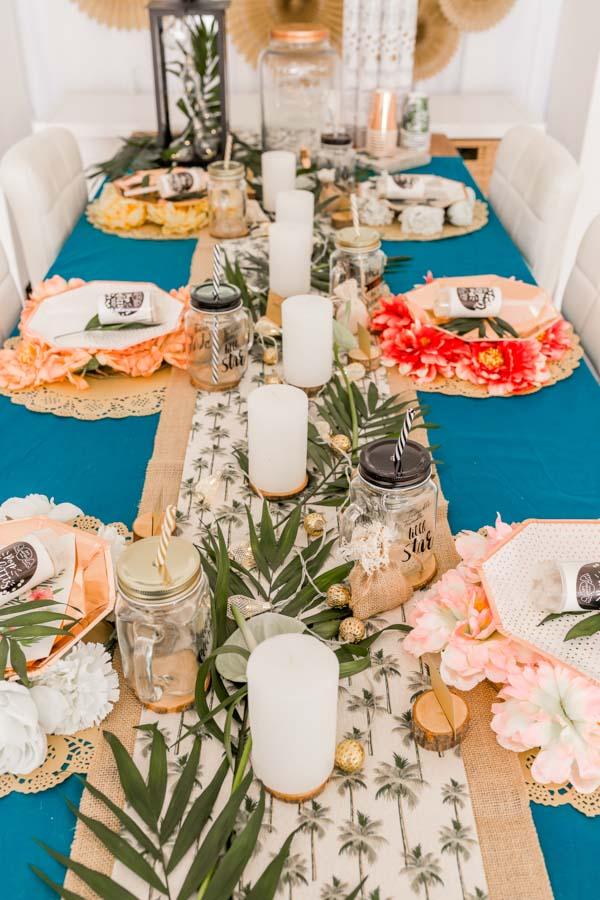 Deco De Table Une Table De Fete Jungle Mariage Anniversaire