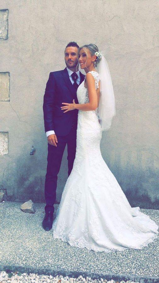 robe de mariée décolleté dos