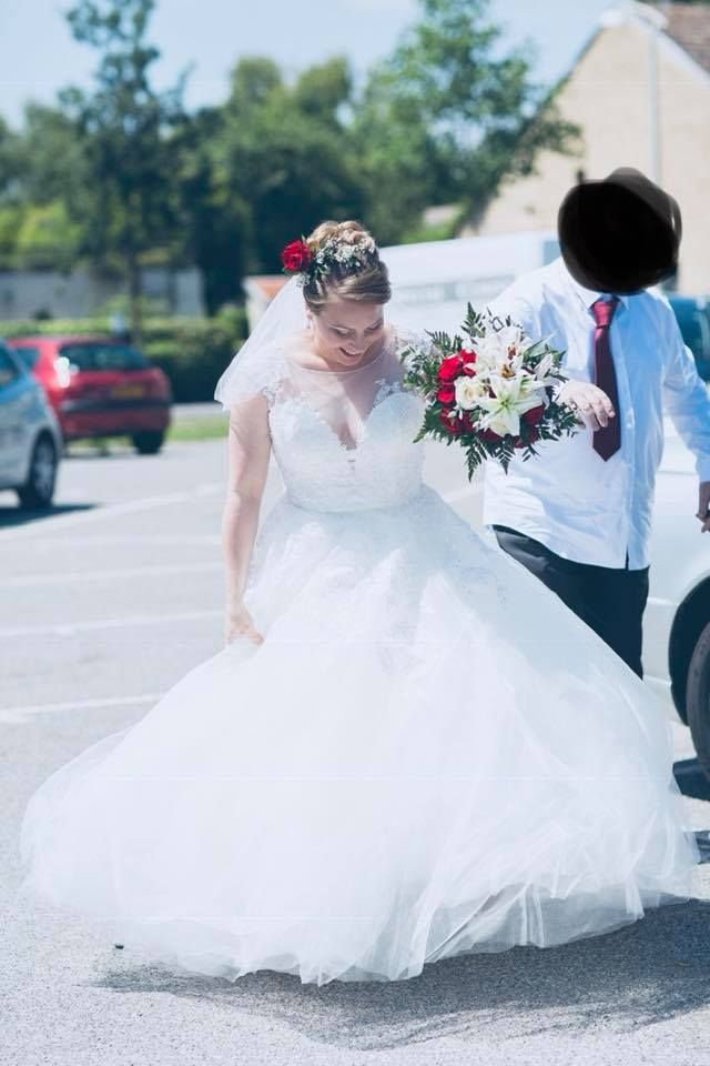 robe de mariée jupon princesse