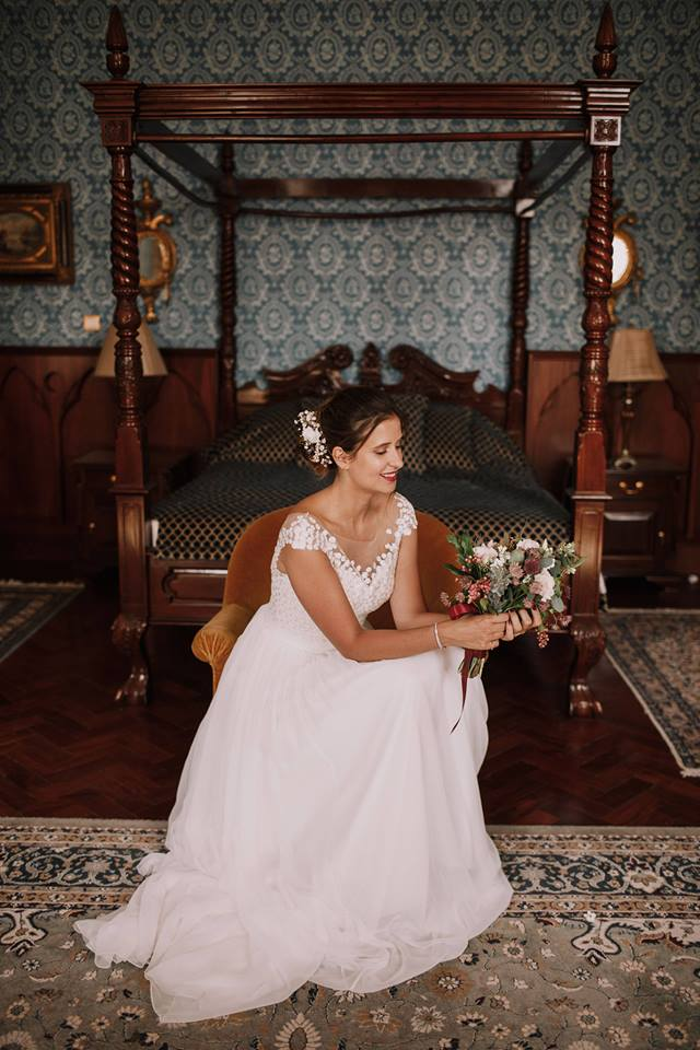 robe de mariée tendance dentelle