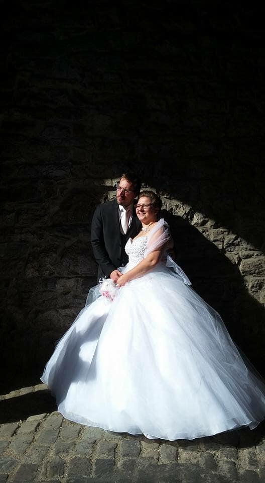 robe mariée bustier princesse