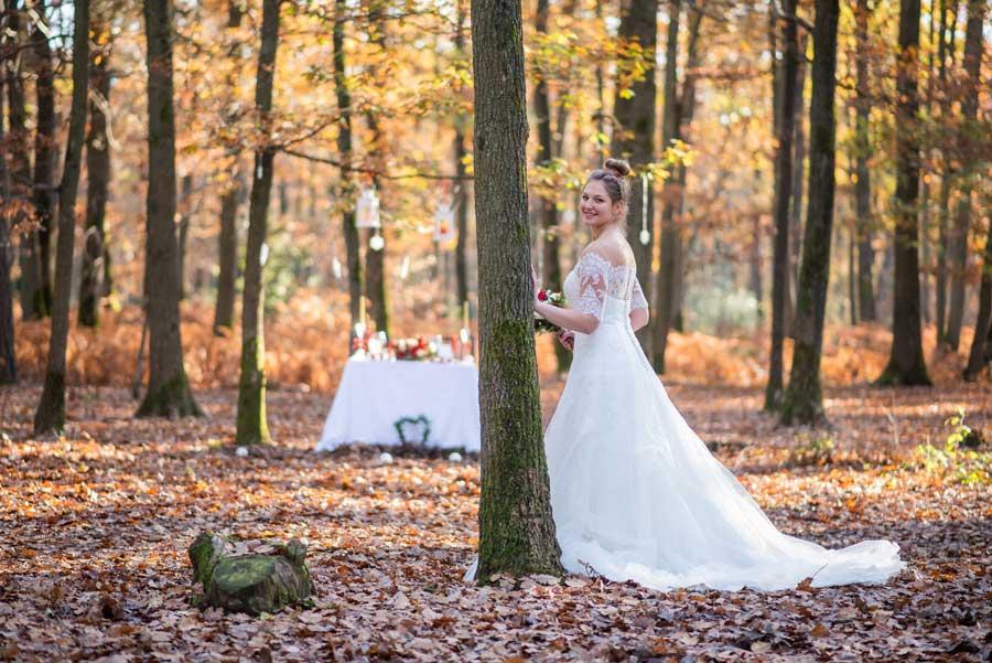 robe de mariée mariage hiver
