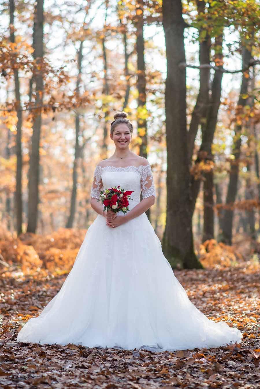 robe de mariée mariage noel