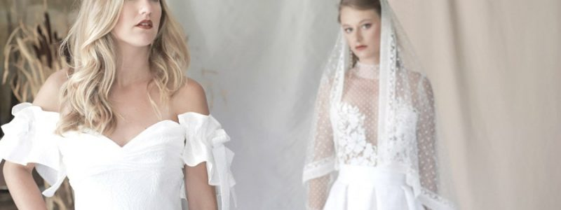 Robes de mariée : Manon Pascual collection Couture 2019