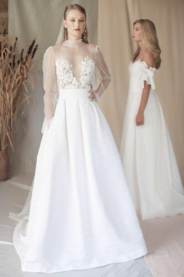 robe de mariee transparente manon pascual