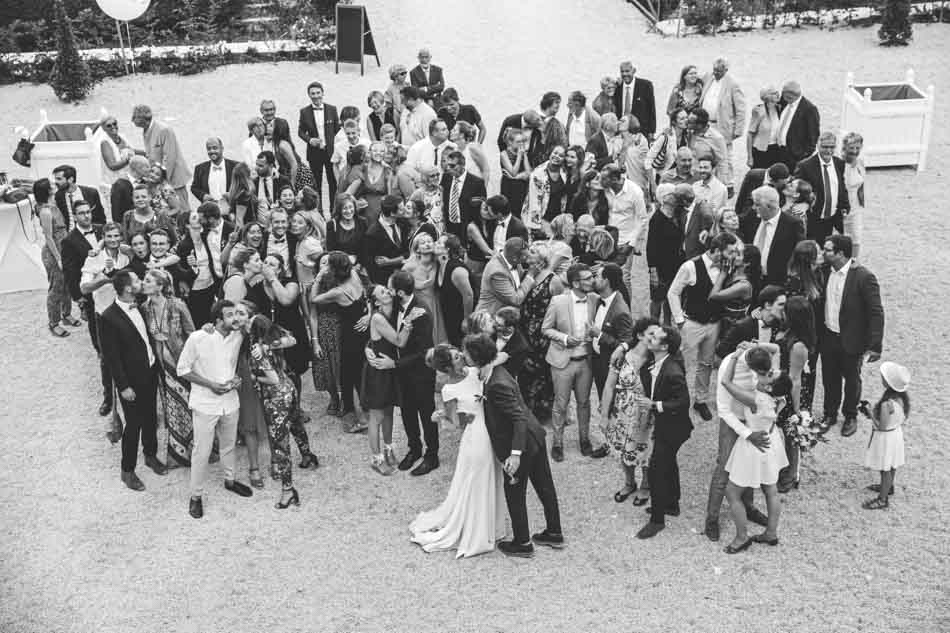 photo de groupe mariage tradi