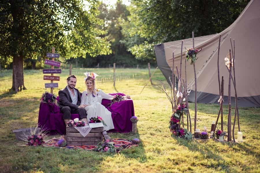 cérémonie laique hippie