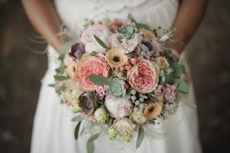 bouquet mariage bohème