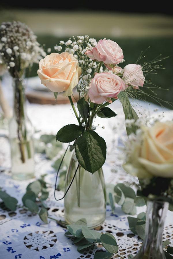 bouquet fleurs mariage bohème