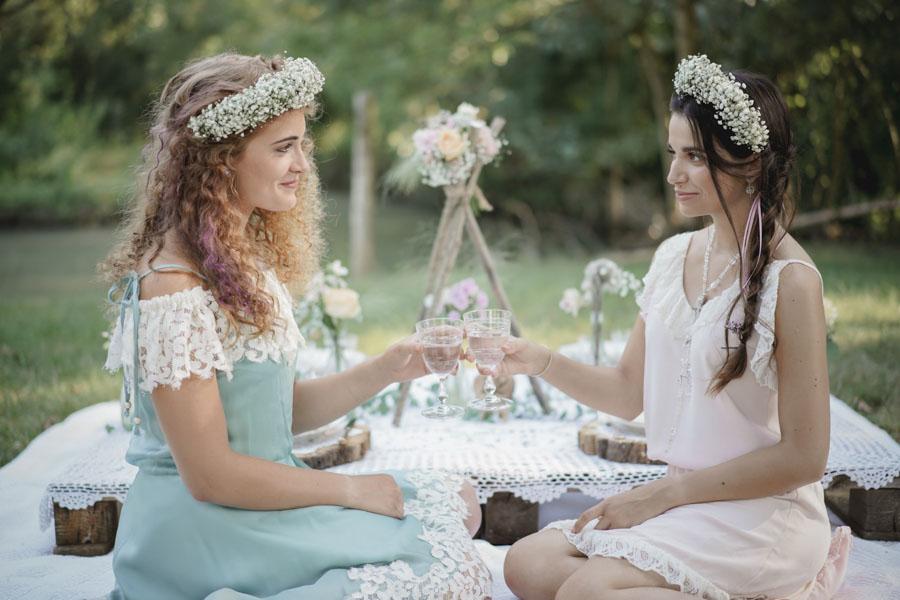 tenue mariage bohème