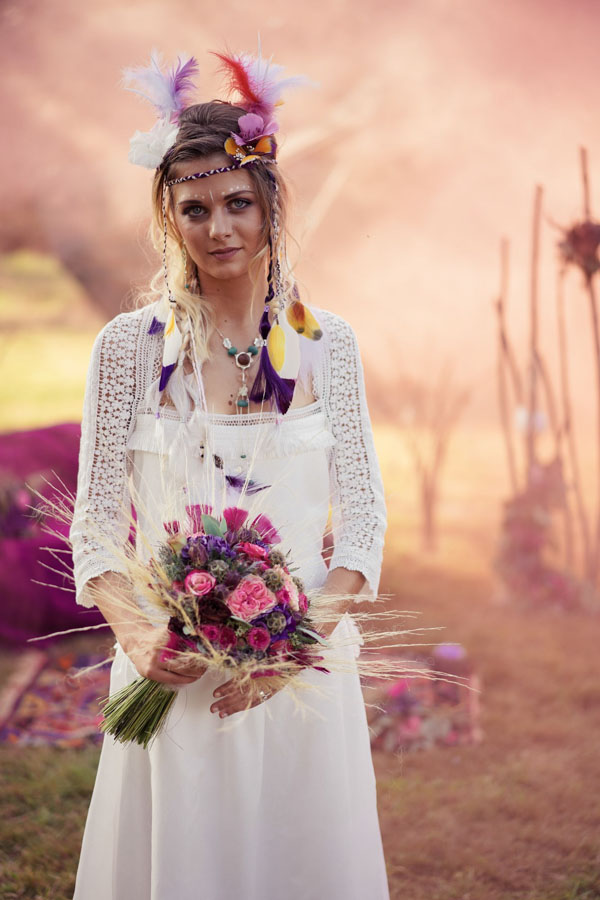 organisation mariage hippie chic