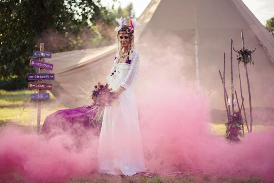 organiser mariage hippie chic