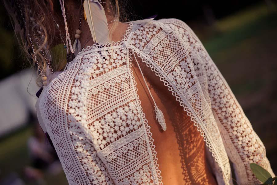 robe de mariée hippie chic