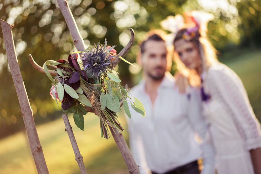 robe de mariée hippie