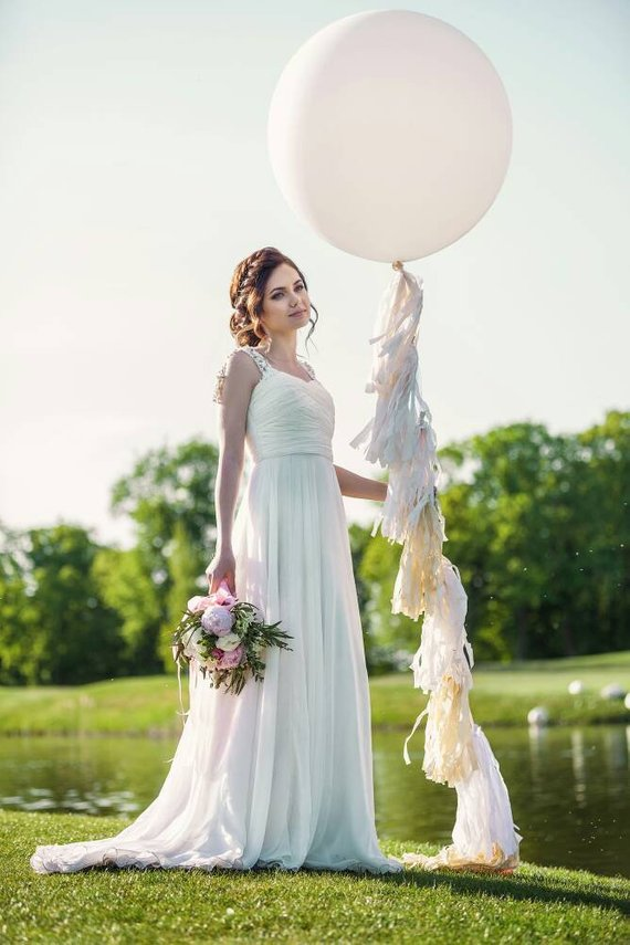 ballons tassels mariage