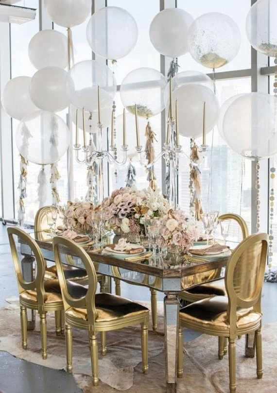 décoration mariage ballons baudruche