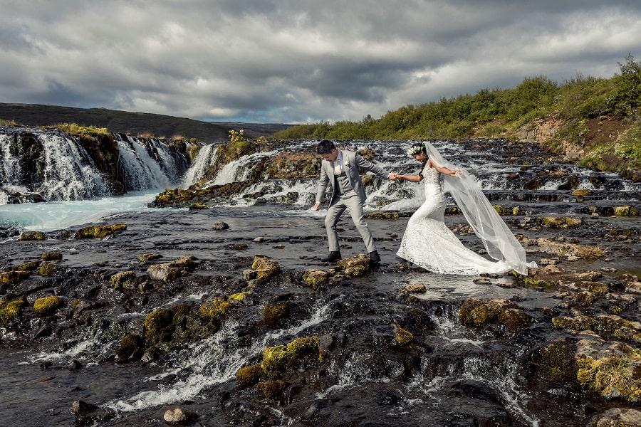 mariage Brúarárfoss