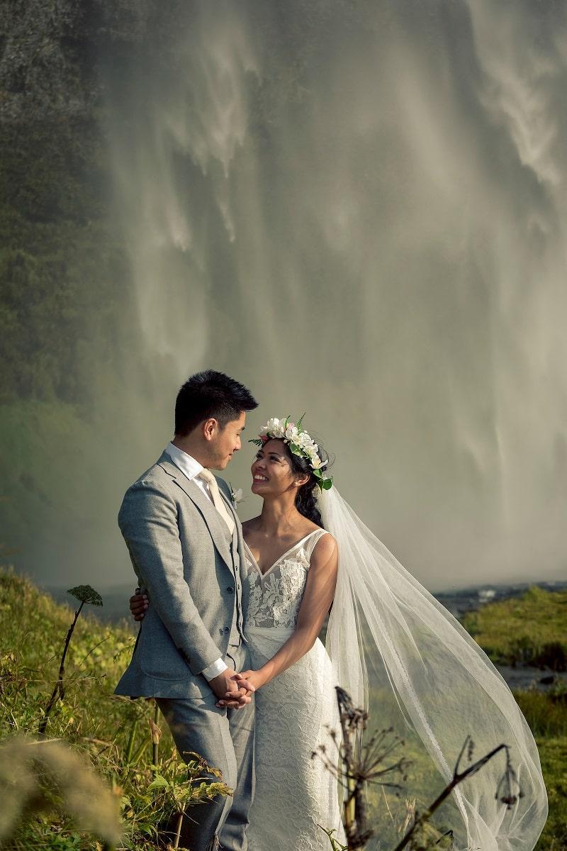 couple mariage islande