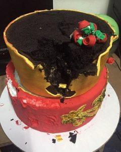 wedding cake polystyrène