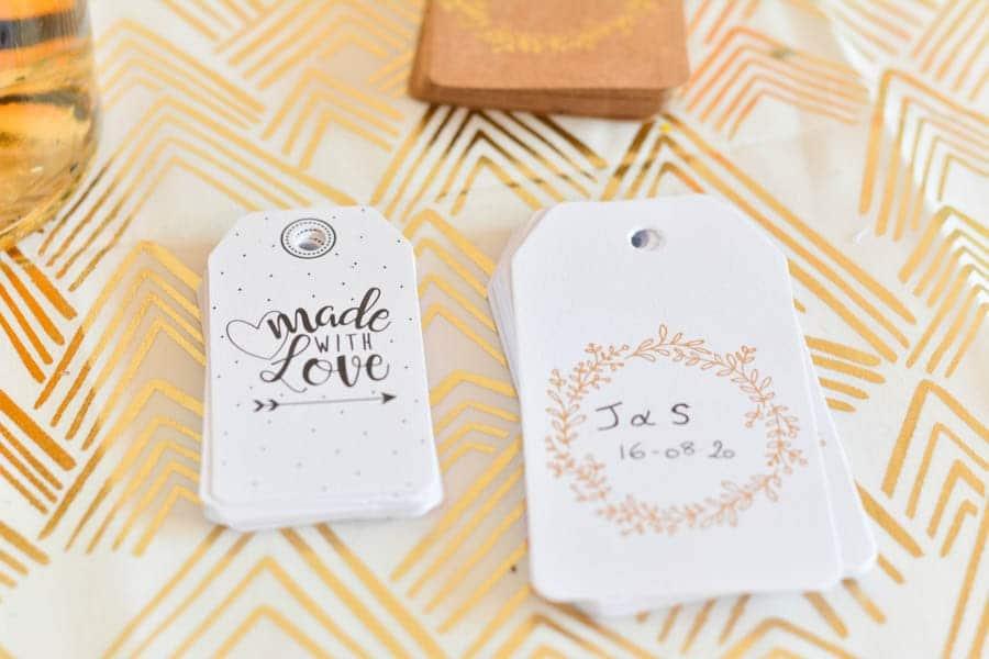 étiquettes rhum cadeau mariage