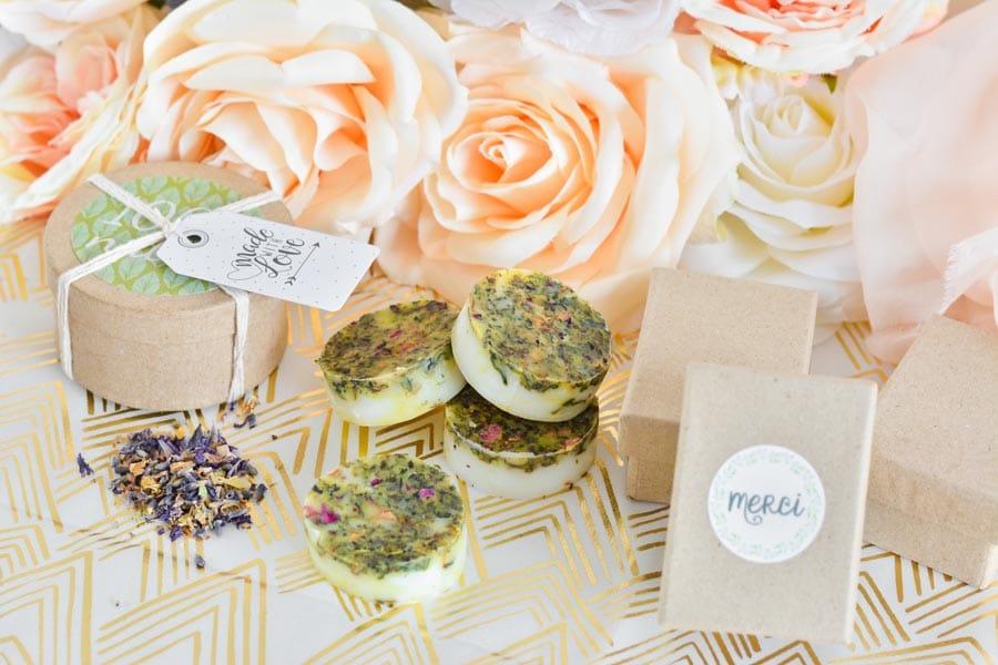 DIY savonnettes cadeau invités mariage