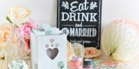 {DIY} Cadeau pour les mariés : une boîte à recettes !