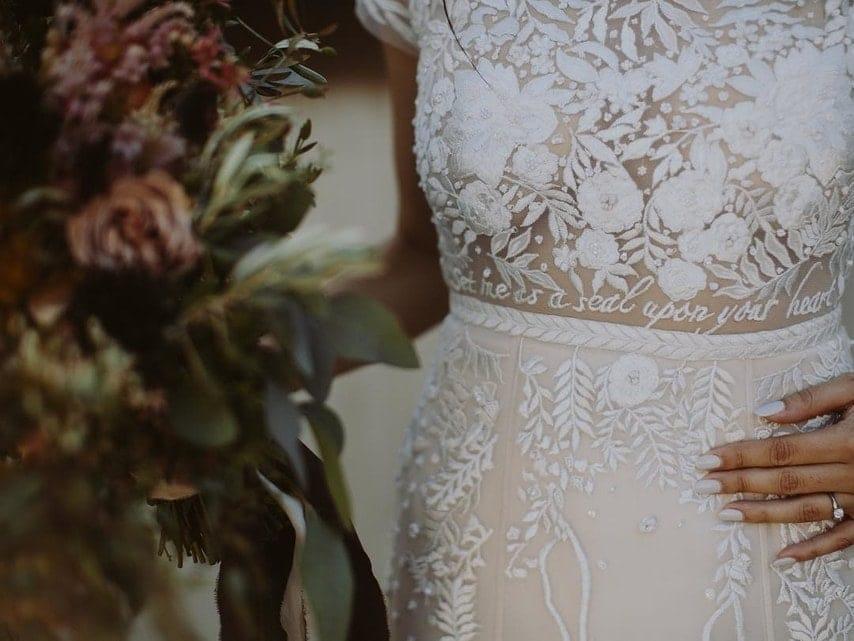 robe mariage personnalisée