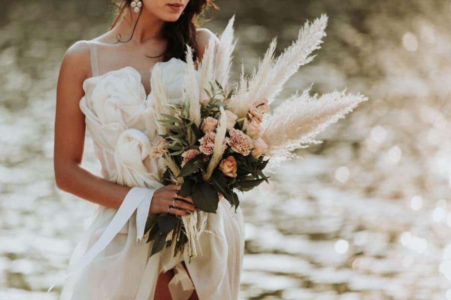 bouquet mariée elopement