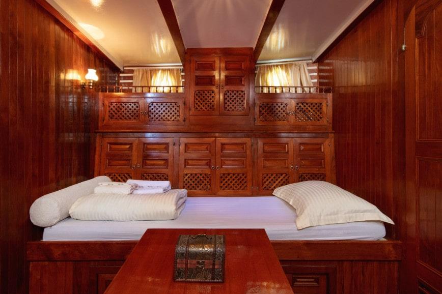 bateau traditionnel voyage de noces