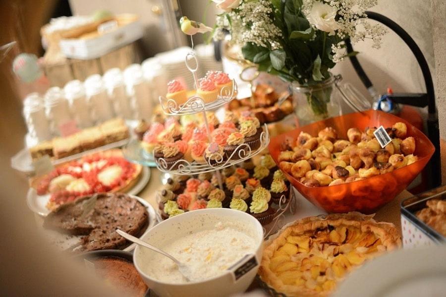 buffet dessert participatif mariage