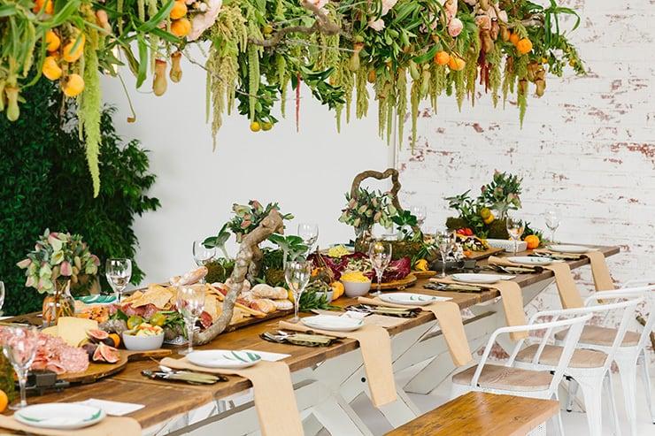 buffet froid mariage original