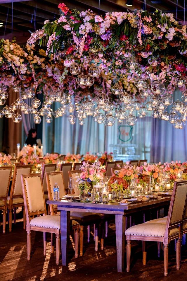 bulles lumière décoration mariage
