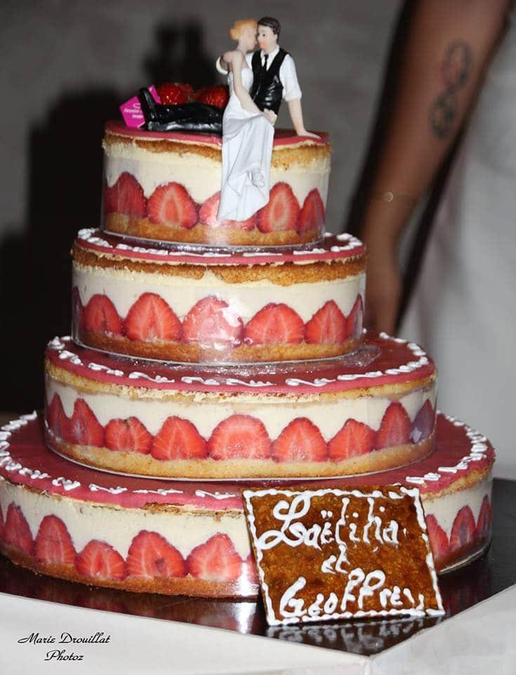 fraisier dessert mariage