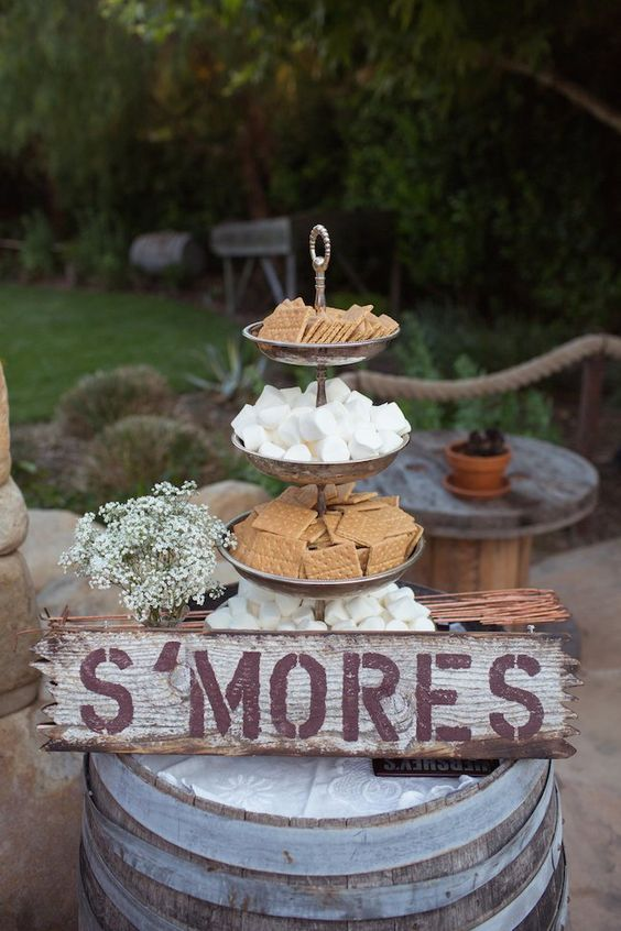 guimauve dessert mariage