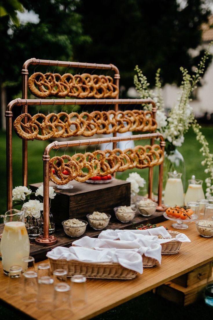mariage original bar bretzel