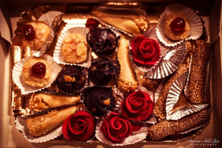 patisseries arabes dessert mariage