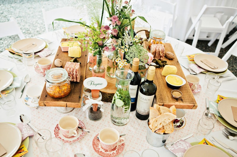 sharing platters mariage