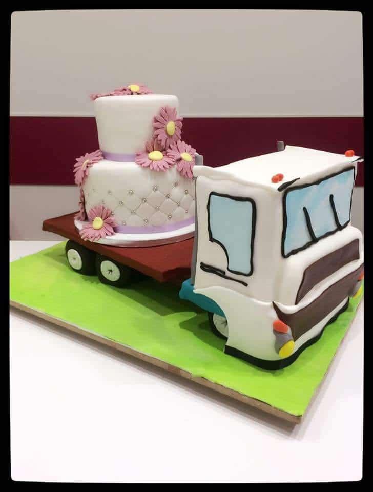 wedding cake original mariage