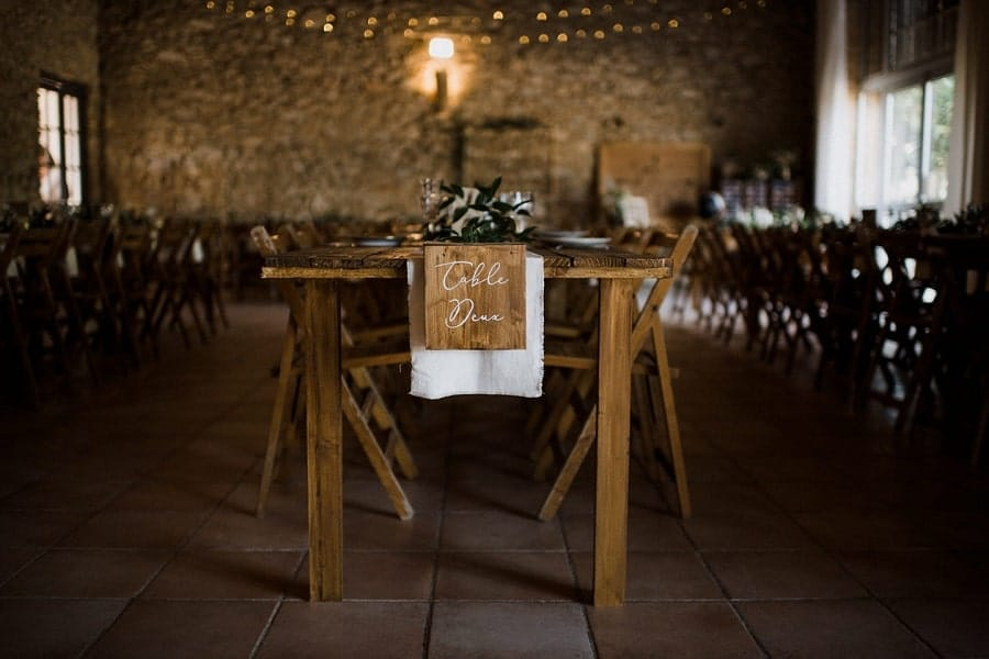 DIY mariage décoration table