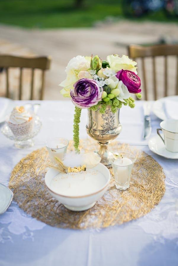 mariage retro décoration chic