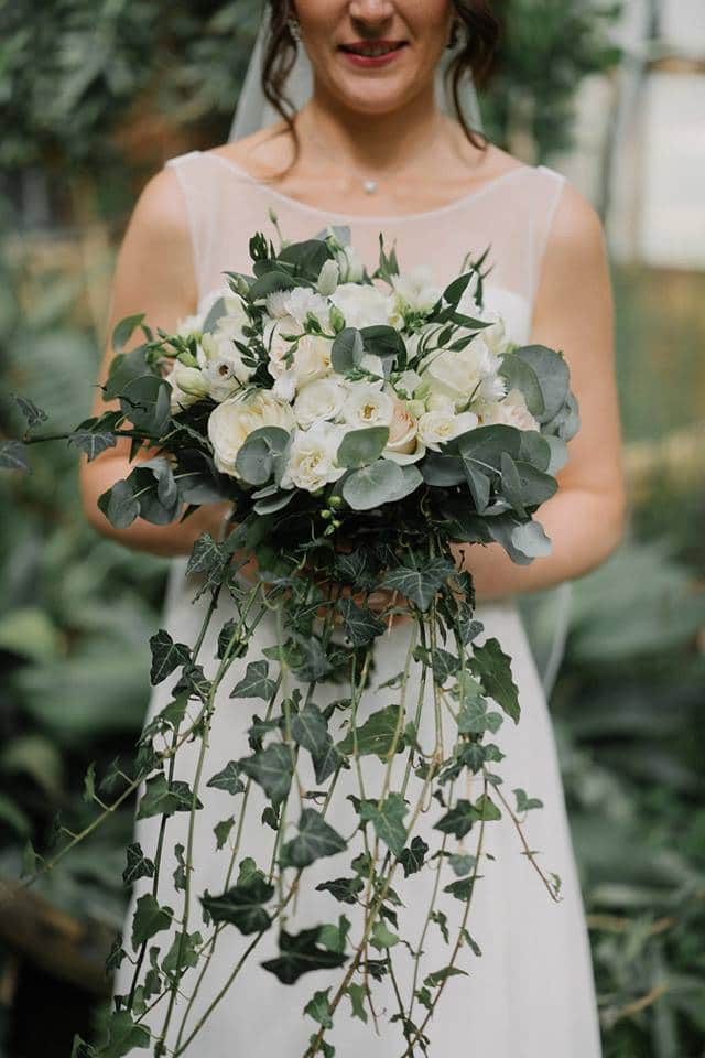 bouquet mariée lierre