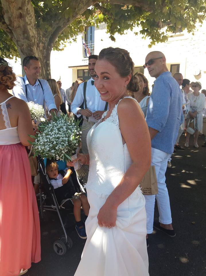 bouquet mariée olivier provence