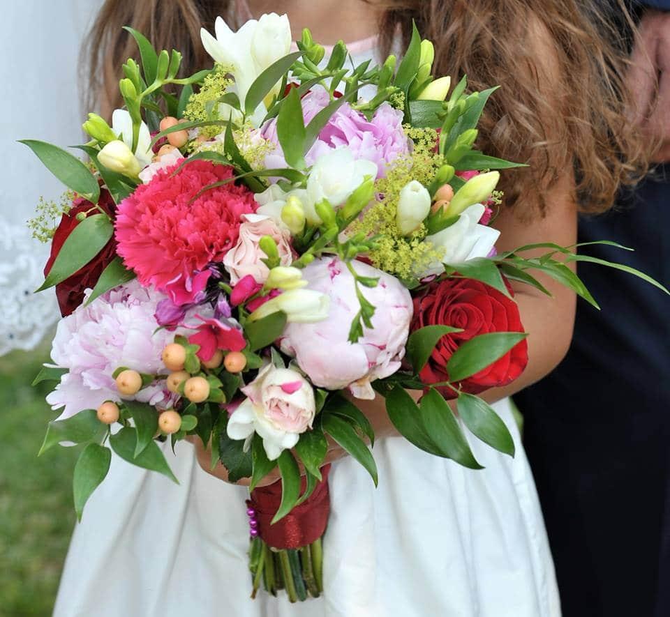bouquet mariage couleur