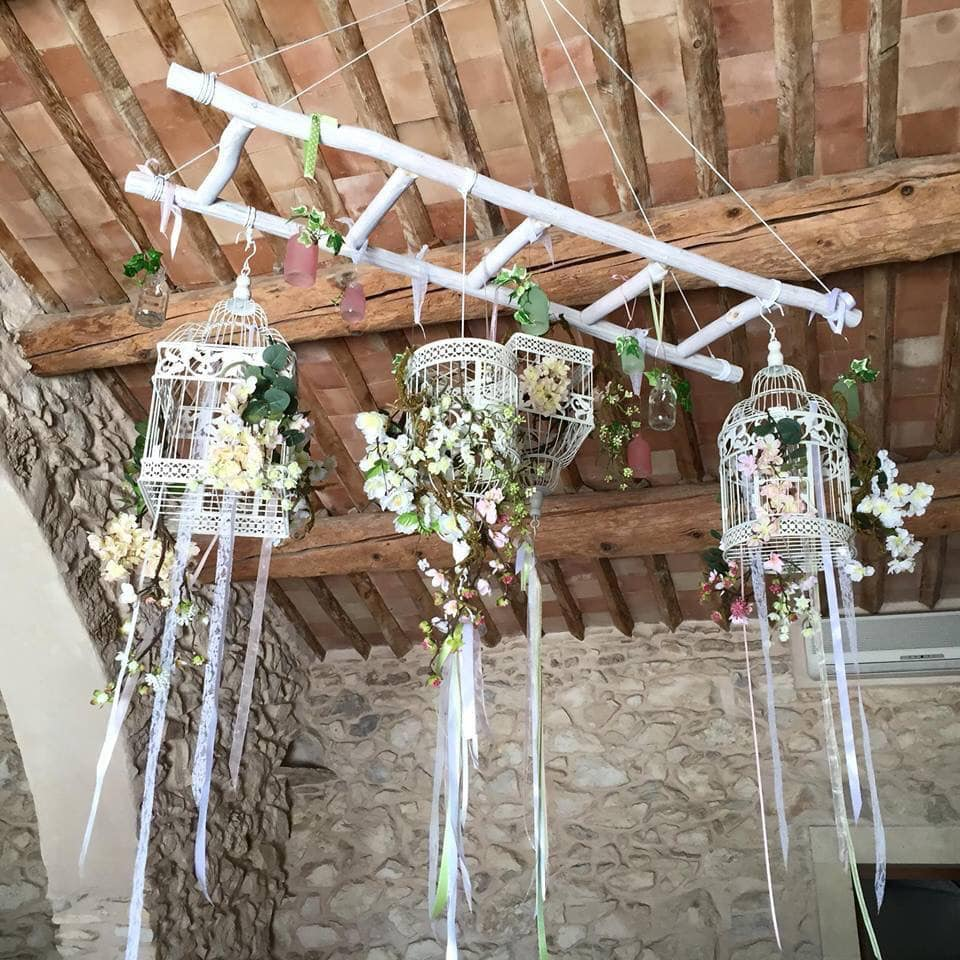 Deco Avec Une Echelle En Bois décoration mariage : 13 diy réalisés par les futures mariées