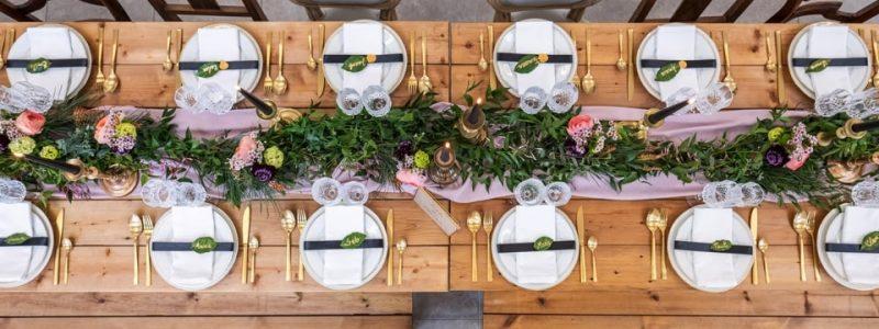 table banquet tendance